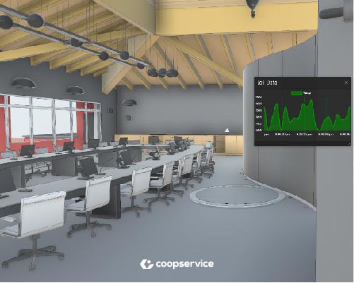 Coopservice digital twin per l'ospedale di Castelfranco Veneto