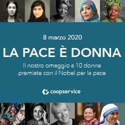 8 MARZO 2020 | La pace è donna!